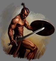 barbarian by Perun-Tworek