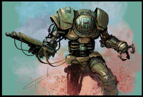 robot by Perun-Tworek