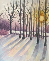Winter in the Woods by Sara-Arasteh