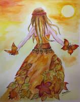 Dreamful Autumn by Sara-Arasteh