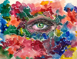 Behind the Colors.. by Sara-Arasteh
