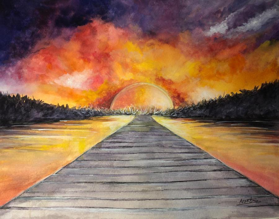 Towards Infinity by Sara-Arasteh