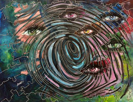 Fingerprint Dilemma by Sara-Arasteh
