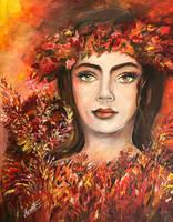 Autumn's Smile by Sara-Arasteh