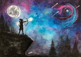 Shooting Stars by Sara-Arasteh