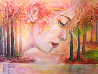 The Golden Fall by Sara-Arasteh