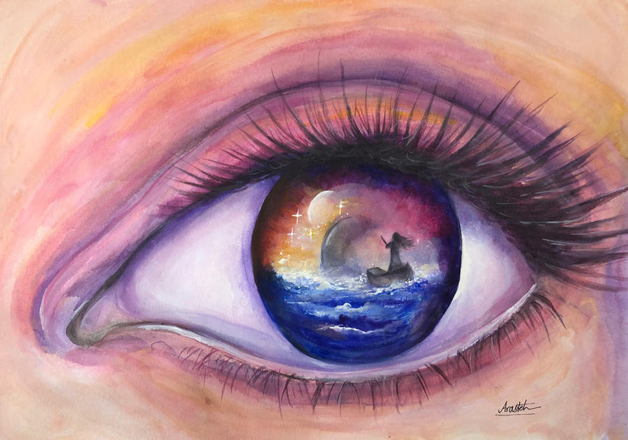 Sparkles Of Hope by Sara-Arasteh