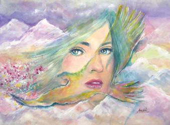 Flight Of Imagination by Sara-Arasteh