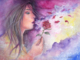 Let the Wind Blow by Sara-Arasteh