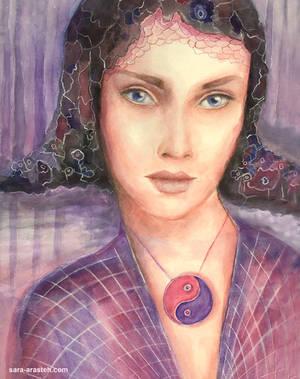 Queen of the Unknown Islands by Sara-Arasteh
