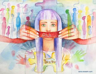 The Silenced Truth by Sara-Arasteh