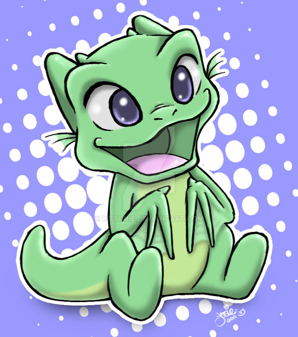 Cute Chibi Dragon by Kitsunie on DeviantArt