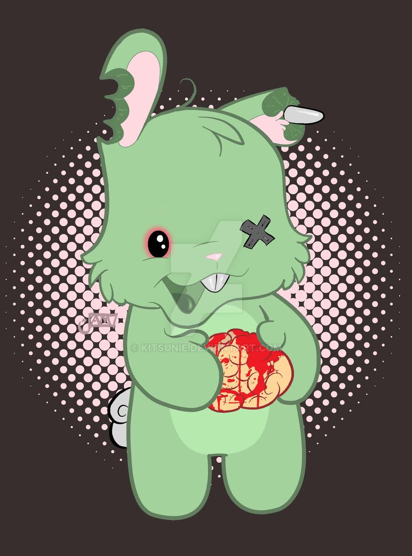 Zombie Bunny Wants Bra...
