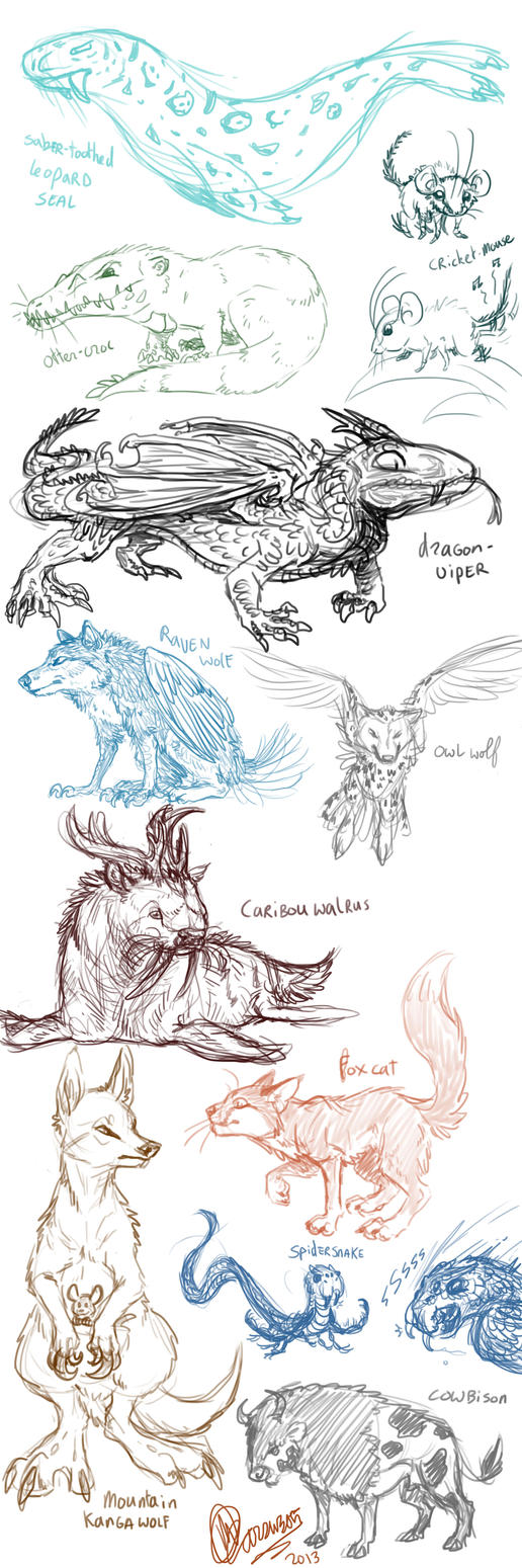 Avatar creature dump 2 by marsu305