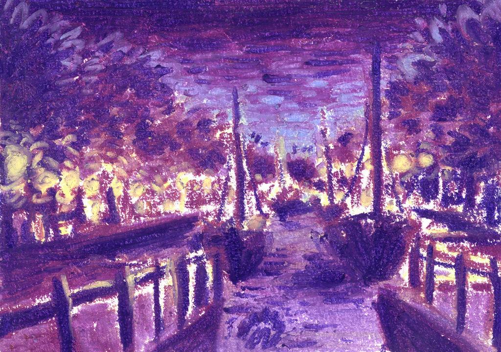 Hasselt: Evening view