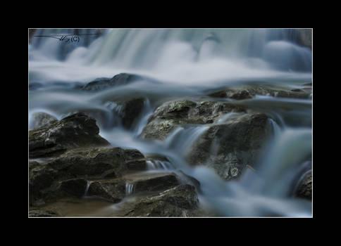 Blue Water Flow