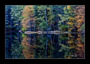 autumn waterscape IV by OrisTheDog