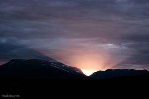 Montain Sundown