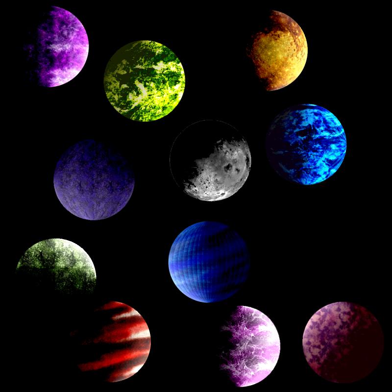 galaxy planets drawings - photo #43