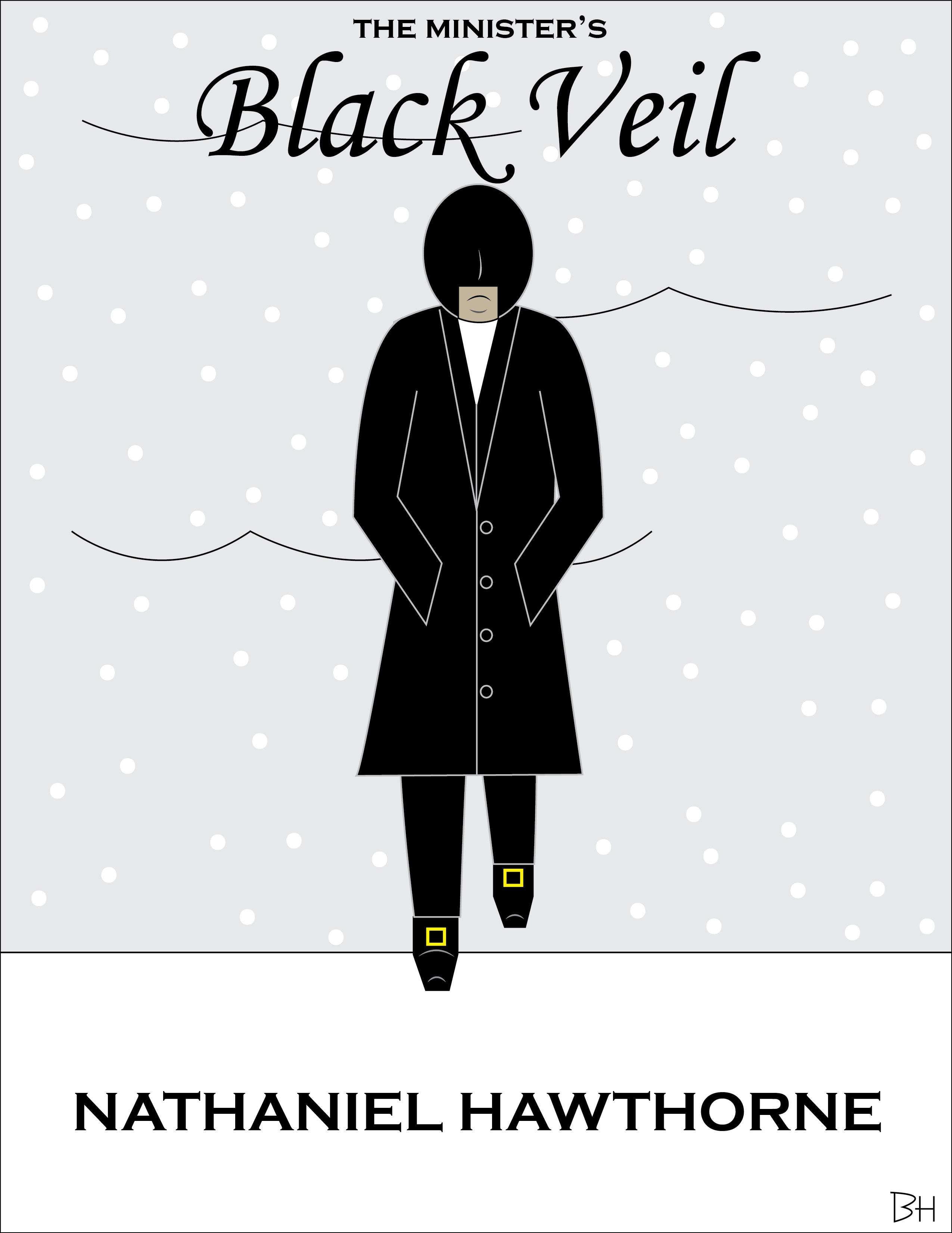 black essay minister veil
