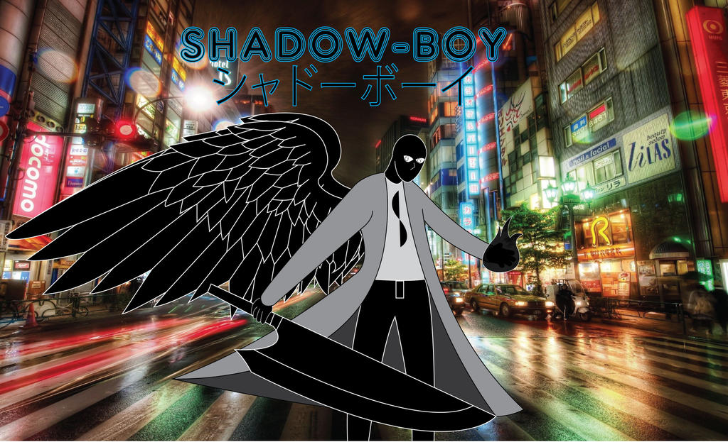 Shadow-Boy, The Anime by BenjaminHopkins on DeviantArt