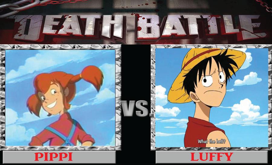 DB Pippi Longstocking vs. Luffy by BenjaminHopkins