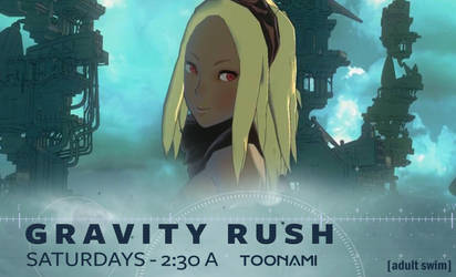 Gravity Rush on Toonami
