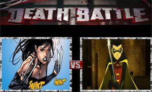 X-23 vs. Damian Wayne
