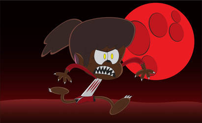 Super Blood Wolf Moon by BenjaminHopkins