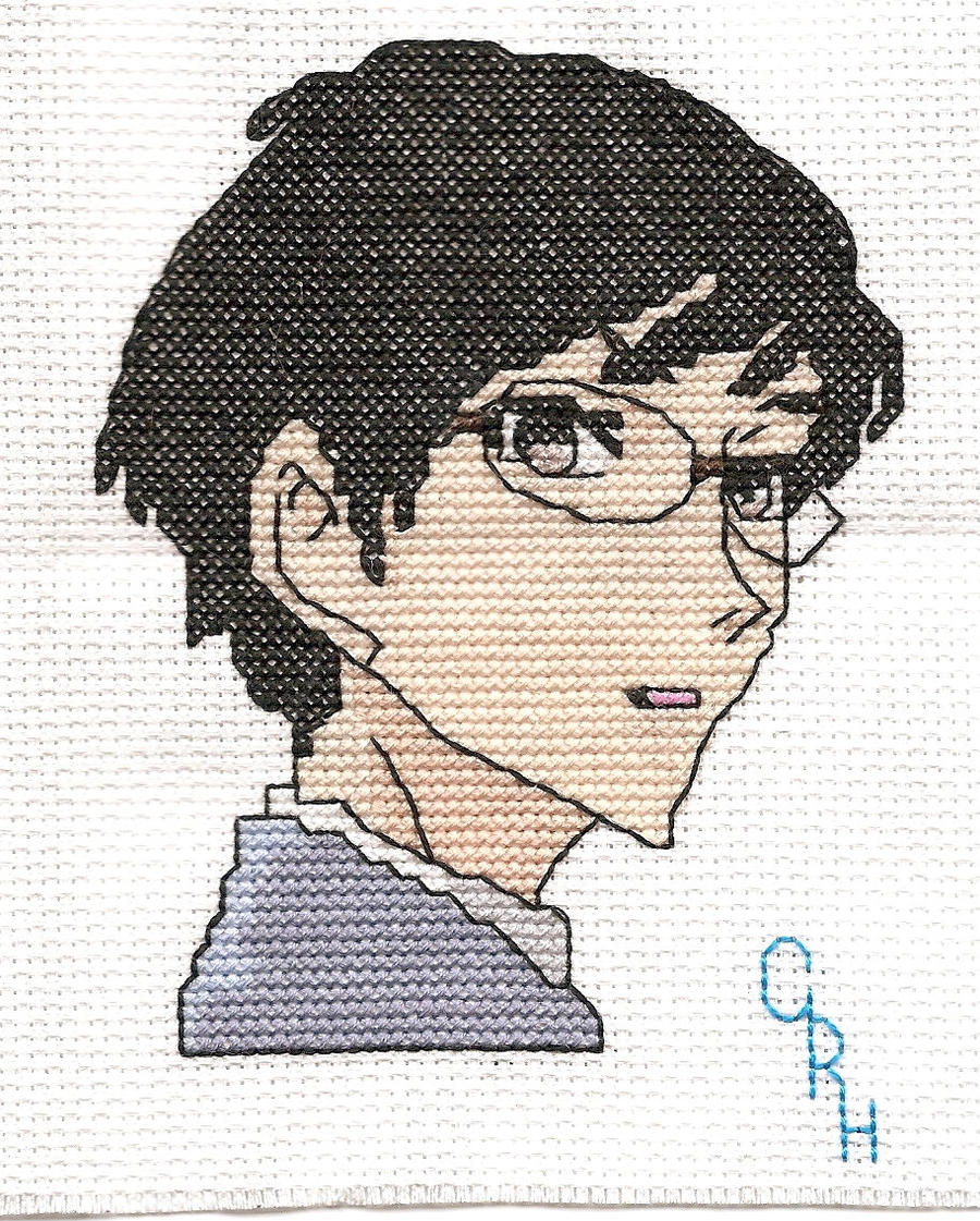 Kyoya Ootori  Face by Sew-Madd