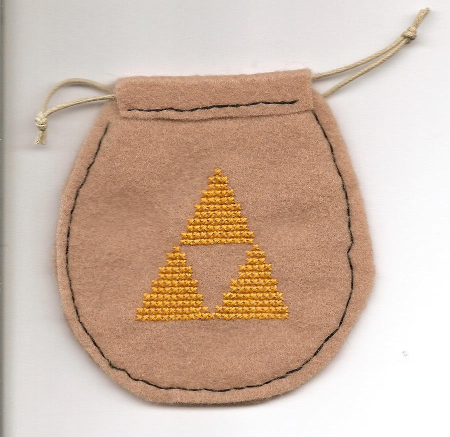 Zelda drawstring pouch by Sew-Madd