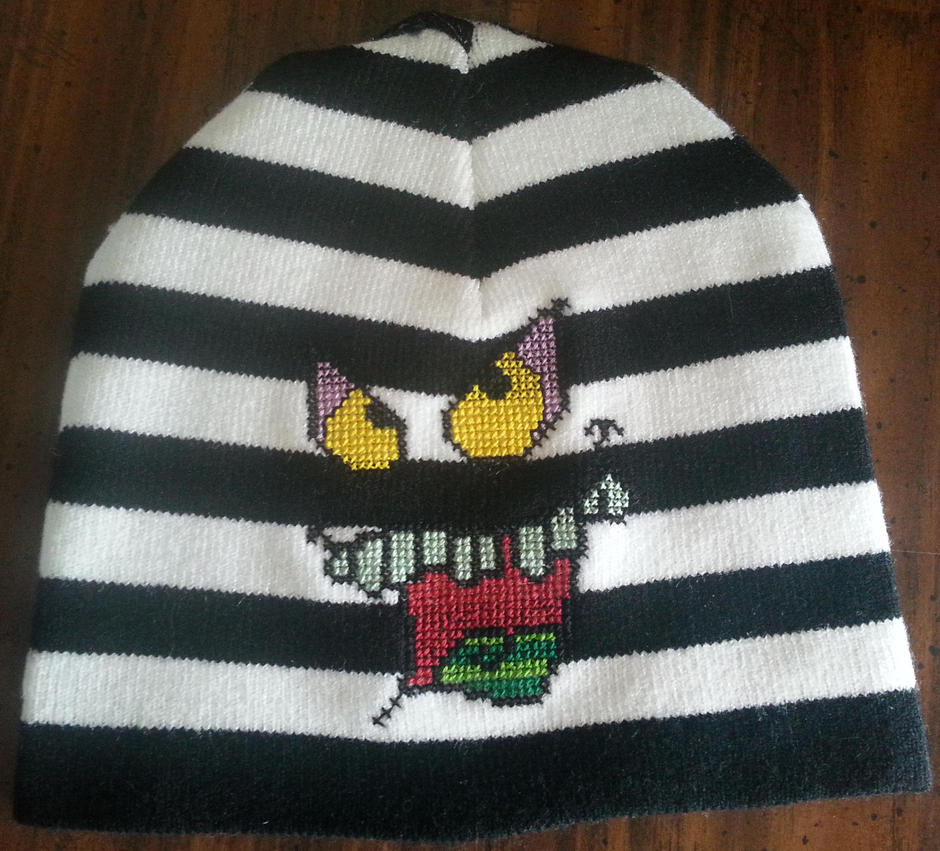 Beetlejuice animated face by Sew-Madd