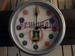 Sailor Moon Token Clock