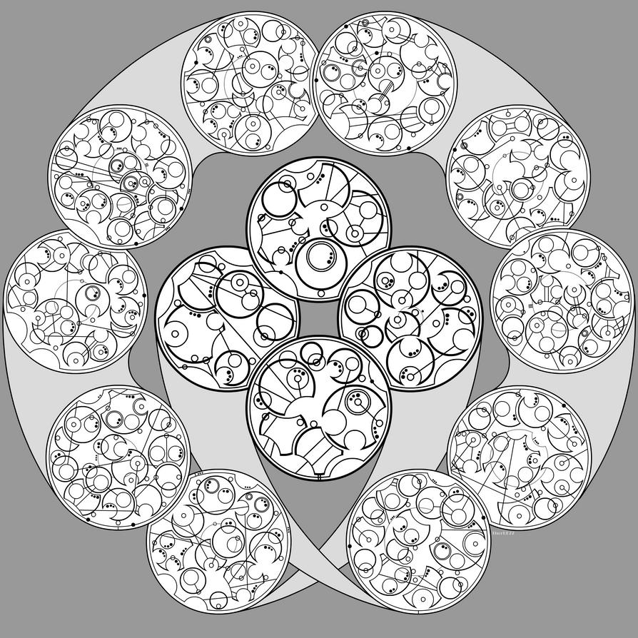 Gallifreyan 020 - Jabberwocky (complete) by ThorUF72