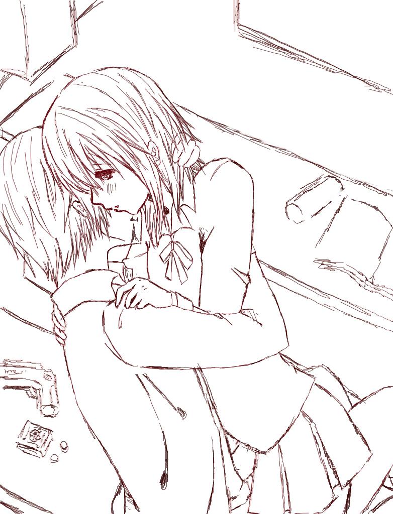 vampire knight by xxhaneyshxx vampire knight by xxhaneyshxx - Anime Vampire Girl Coloring Pages