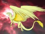 Marian in dragon mode