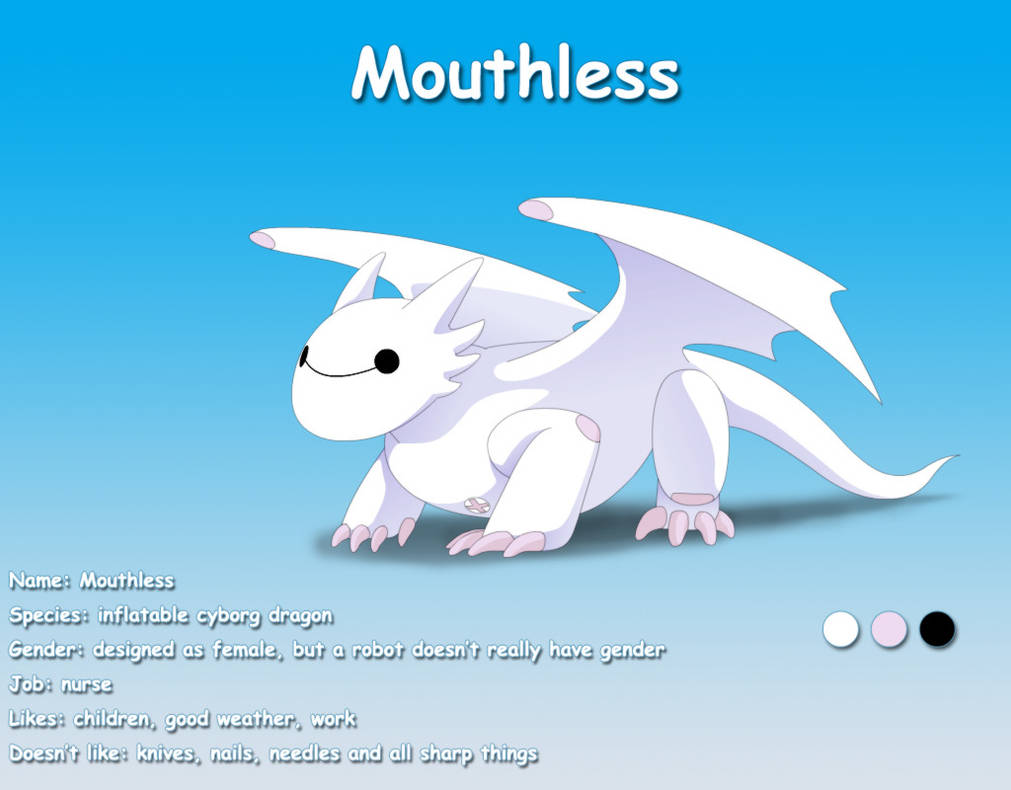 Mouthless by lizardseraphim