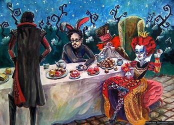 Trio of lunatics by Miletysant