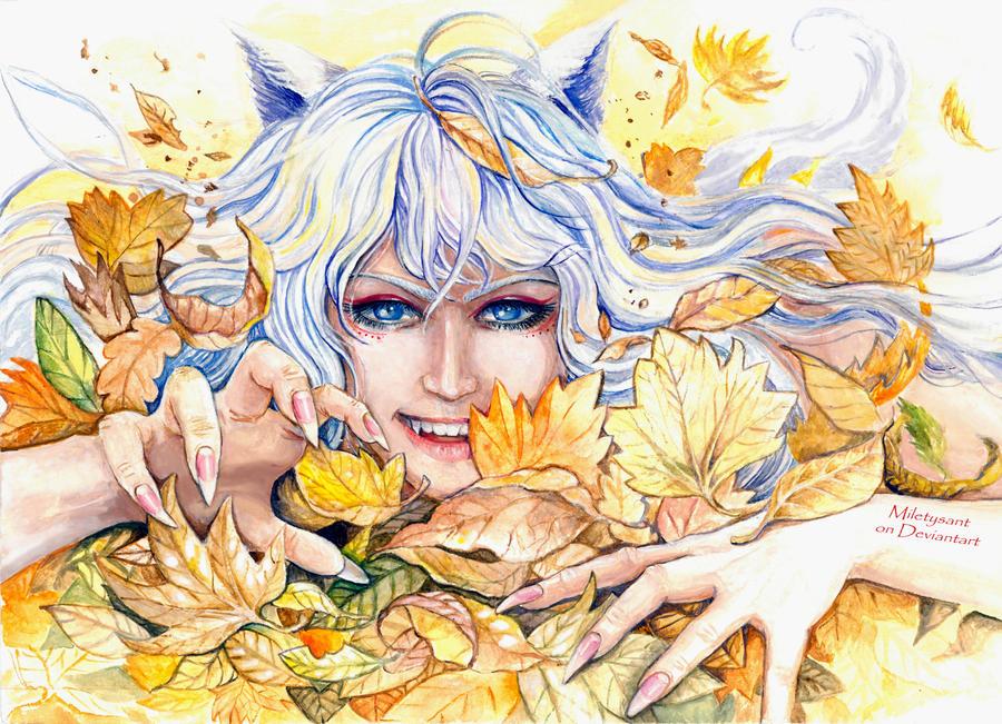 Kitsune by Miletysant
