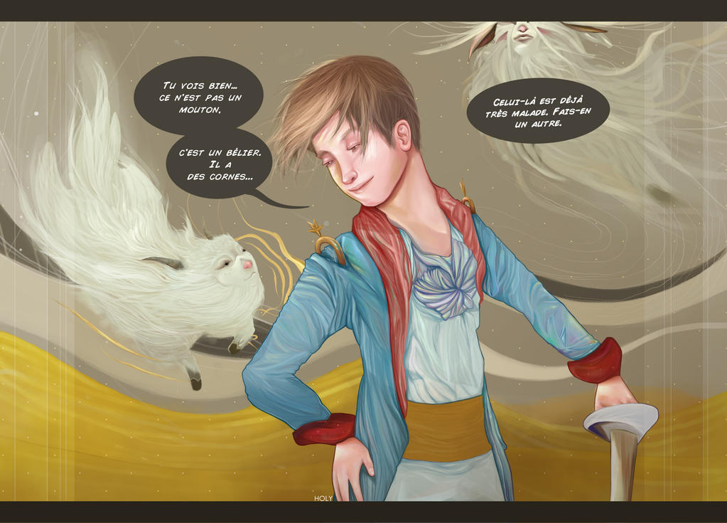 Le Prince avec les moutons by erikimai
