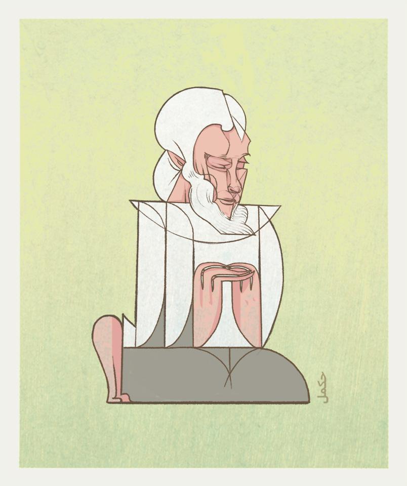 Kneeling by erikimai