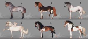 Auction horse adopt 71 [CLOSED]