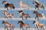 Auction horse adopt 80 [CLOSED] by ArtGanya