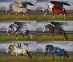 Auction horse adopt 85 [CLOSED] by ArtGanya
