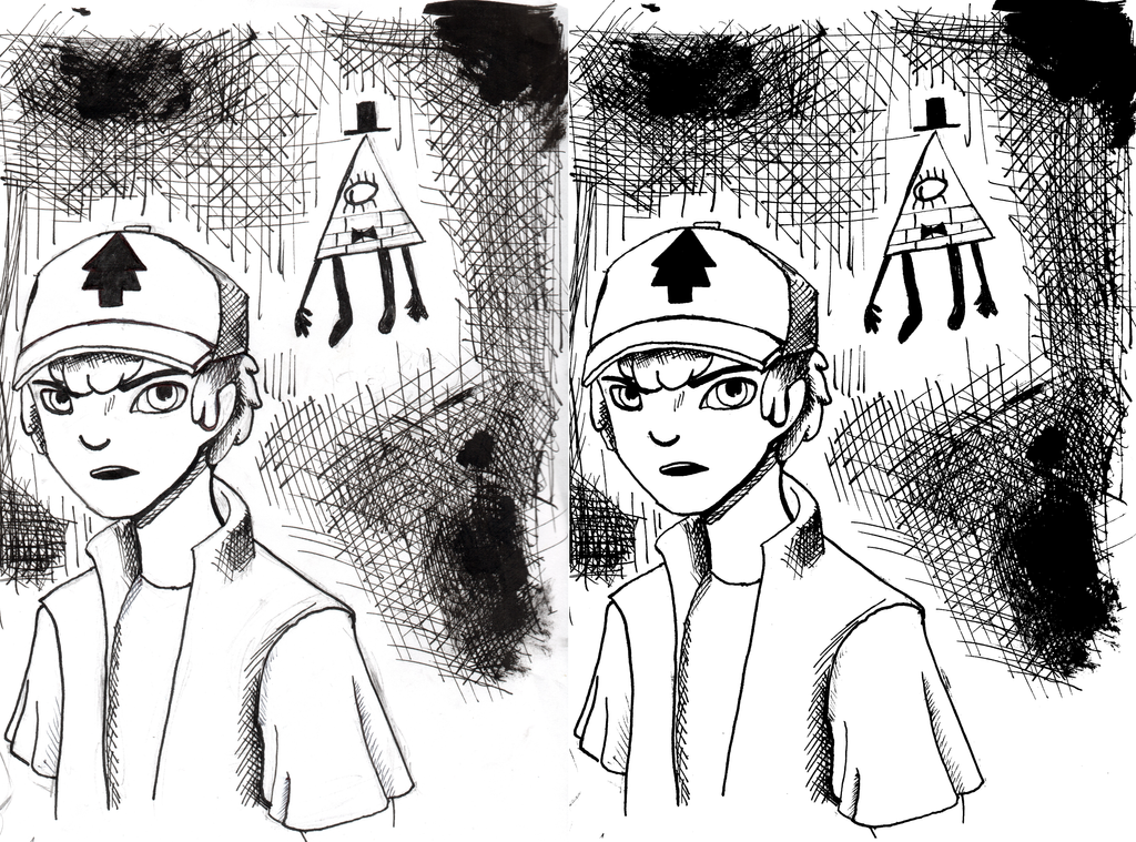 dipper scan comparison by xoes