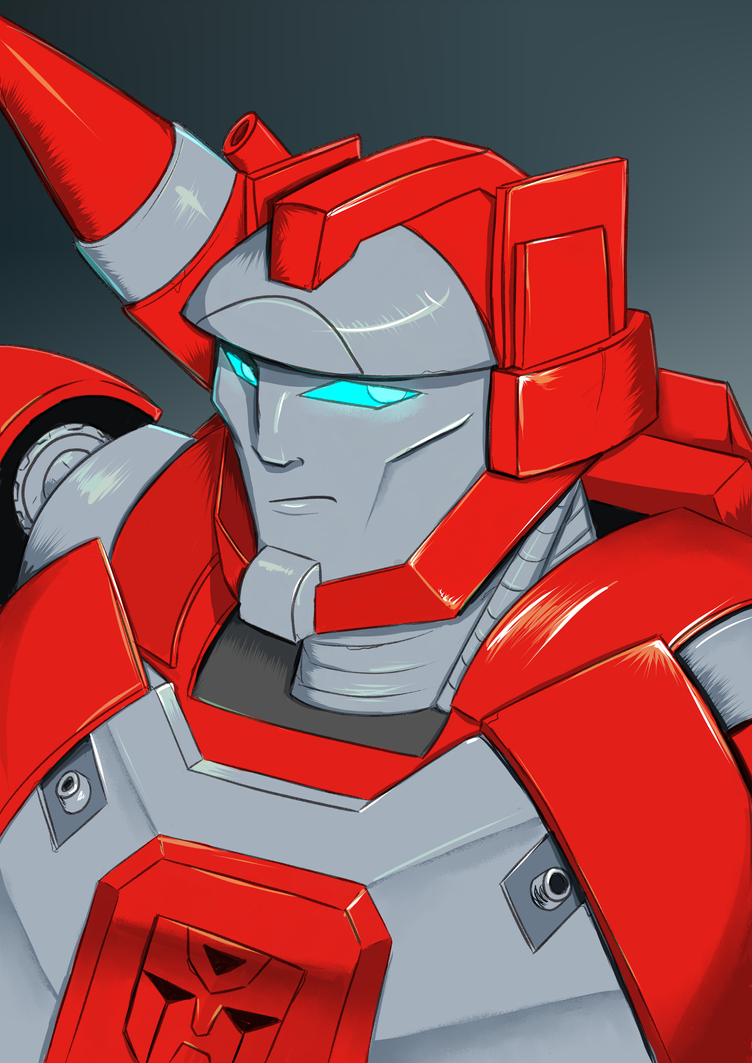 Red Alert Colored by xoes