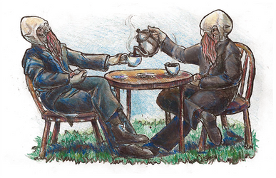 Ood Tea Party by stameyeh