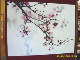 Cherry Blossom by RaindropsSunshowers