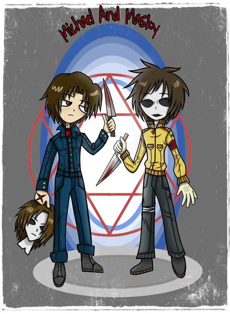 Michael and Masky  by camposleonardo059