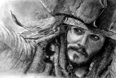 Captain Jack Sparrow by SAibIRfan